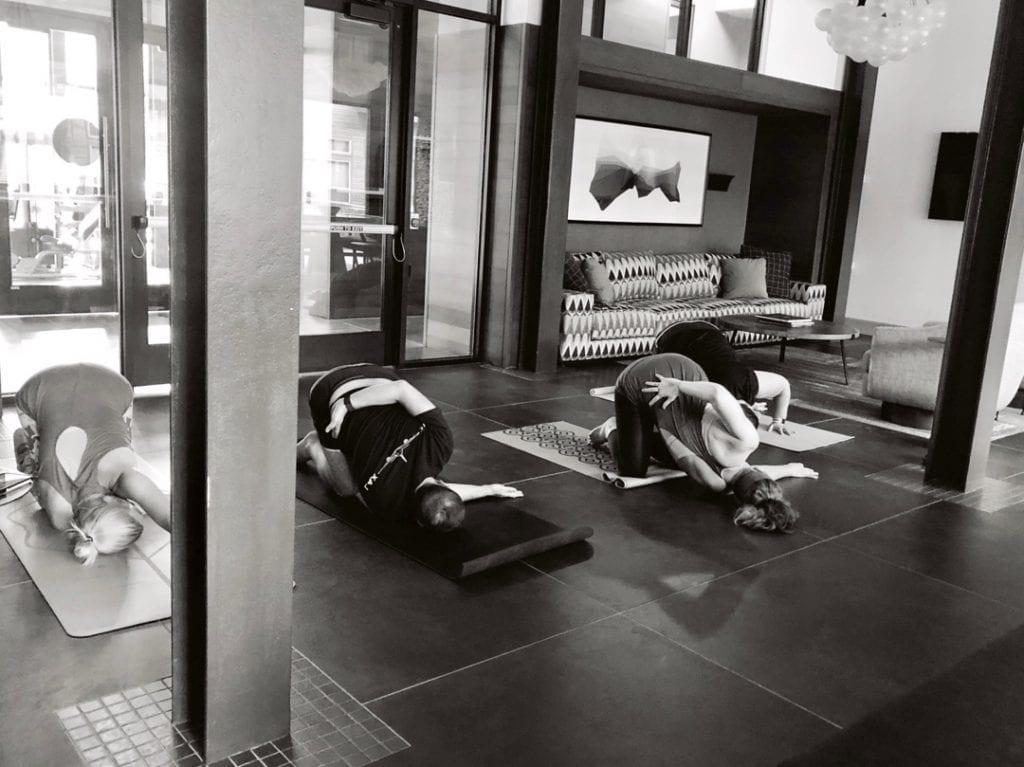 Offsite Yoga in Dallas